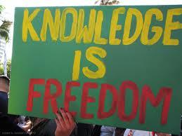 المعرفة حرية